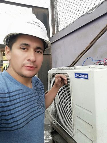 Imagen 1 de 10 de Instalacion Aire Acondicionado Reparación Mantenimiento