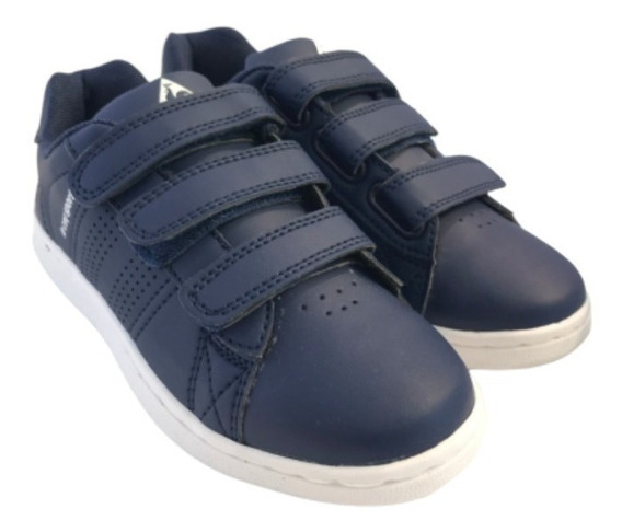 Zapatillas Le Coq Sportif Sculi Strap Dress Blue Jr Dxt