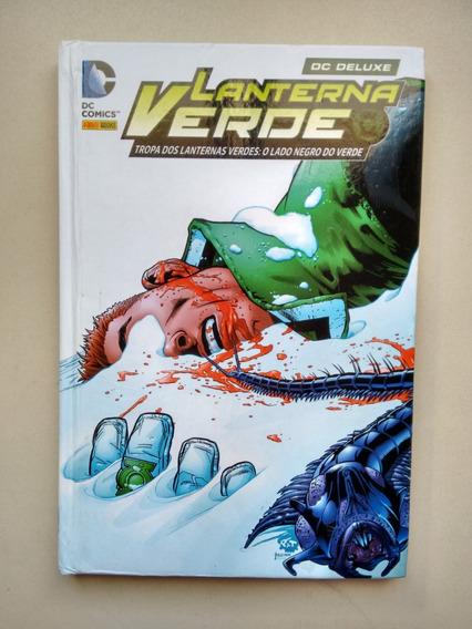 Livro Hq Lanterna Verde O Lado Negro Do Verde Capa Dura B868