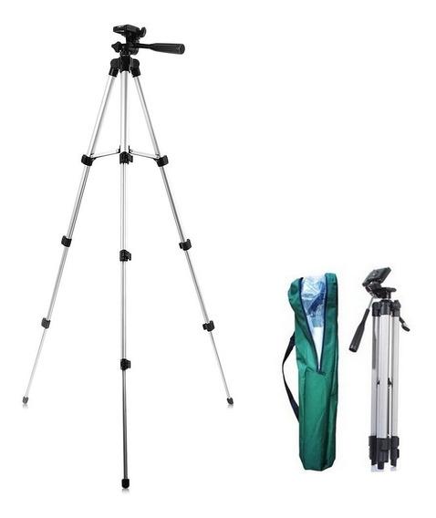 Tripe 1,30 M Universal P/ Sony Canon Nikon Filmadora