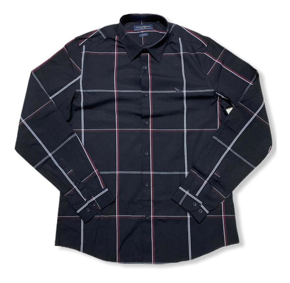 Camisa Manga Longa Xadrez Acostamento
