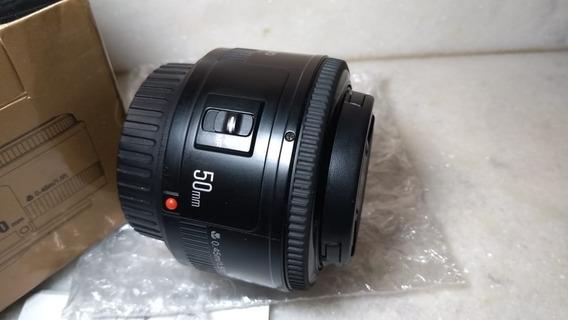Lente Yongnuo 50mm - 1.8 Defeito Err01