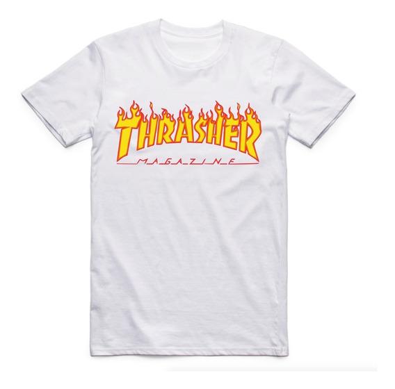 Camiseta Thrasher Magazine Tumblr Swag Moda