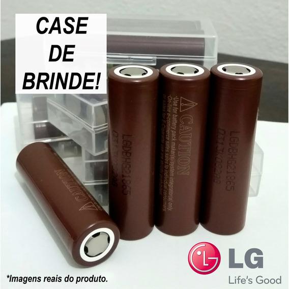 2x Bateria Lg Hg2 Chocolate 18650 Vape Mod + Case