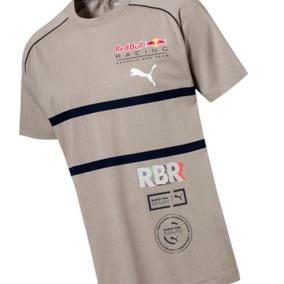 Camiseta Areia Puma Red Bull Speedcat Evo Tee