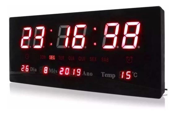 Relógio Parede Led Digital Grande Promoção Inauguração Loja