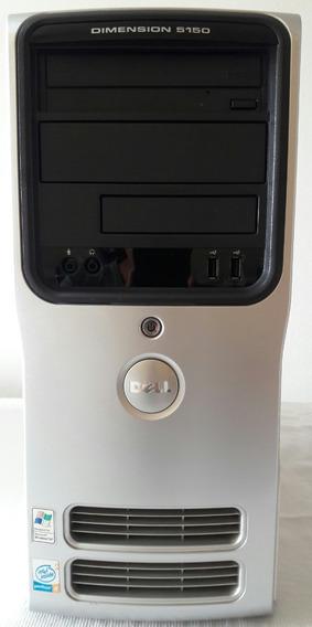 Cpu Dell Dimension 5150 Pentium 4 3gb Hd 80gb