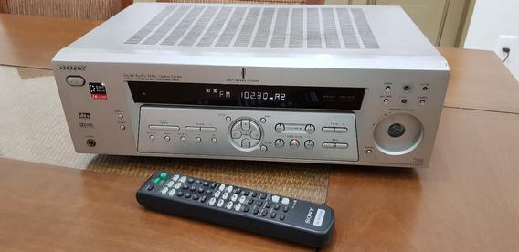 Receiver Sony Str-de475 5.1 Com Detalhes Botao Volume