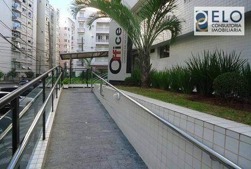 Imagem 1 de 4 de Sala, 37 M² - Venda Por R$ 320.000,00 Ou Aluguel Por R$ 2.600,00/mês - Boqueirão - Santos/sp - Sa0143