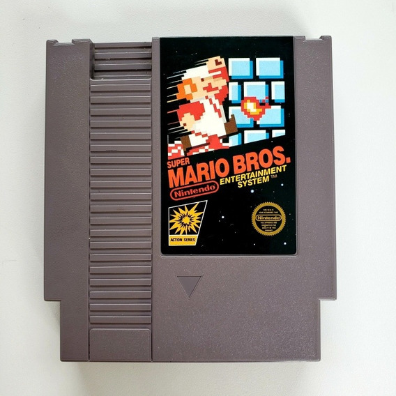 Super Mario Bros Original Nes Nintendinho
