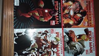 Ultimate Comics Iron Man Televisa Marvel Dc Comics Batman
