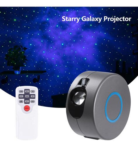 Imagen 1 de 9 de Océano Cielo Estrellado Proyección Luz Galaxia Colorido Luna