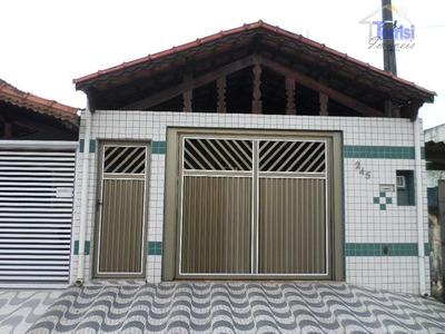 Casa À Venda, Vila Tupi, Praia Grande. - Ca0055