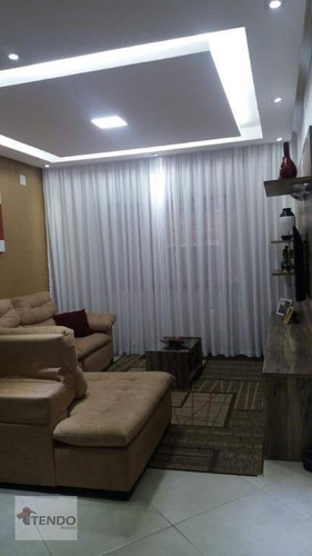 Sobrado 224 M² - Venda - 3 Dormitórios - 1 Suíte - Jardim Las Vegas - Santo André/sp - So0547
