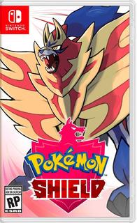 Pokemon Escudo Shield Nintendo Switch Juego Espada Y Escudo