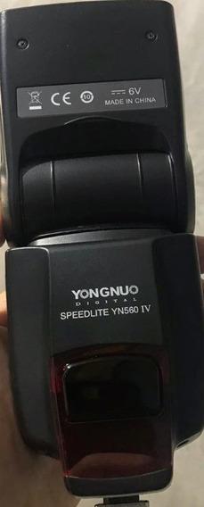 Flash Yongnuo 560iv + Rebstedor