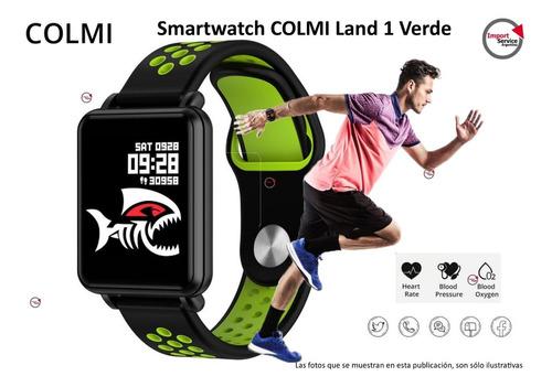 Imagen 1 de 10 de Smartwatch Colmi Land 1 Verde Inteligente