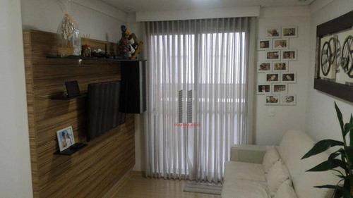 Apartamento Com 3 Dormitórios À Venda, 71 M² Por R$ 500.000,00 - Mooca - São Paulo/sp - Ap2696