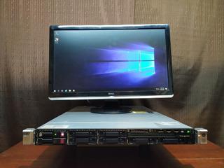 Servidor Hp Dl360e Gen8 2x Xeon E5-2420 8gb Ram Con Windows