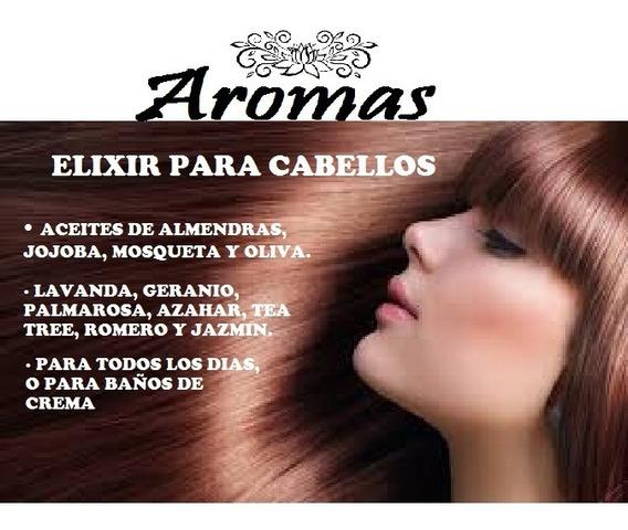 Elixir Natural Para Cabellos Aromas