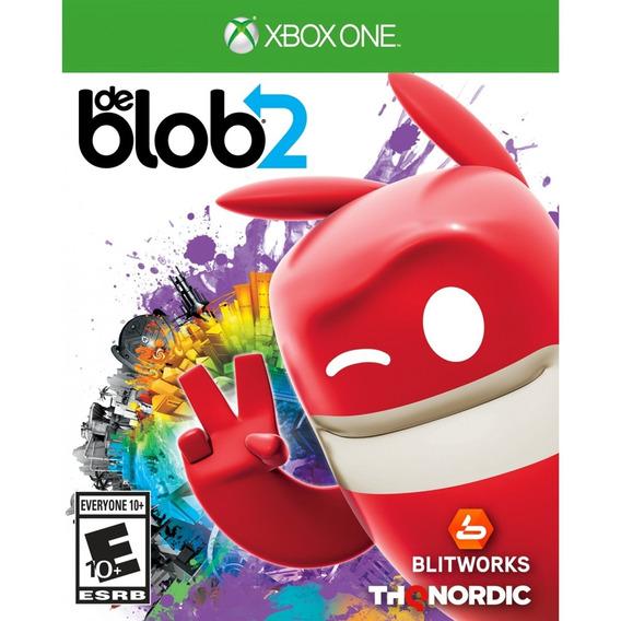 De Blob 2 Xbox One Mídia Física Lacrado Original Novo