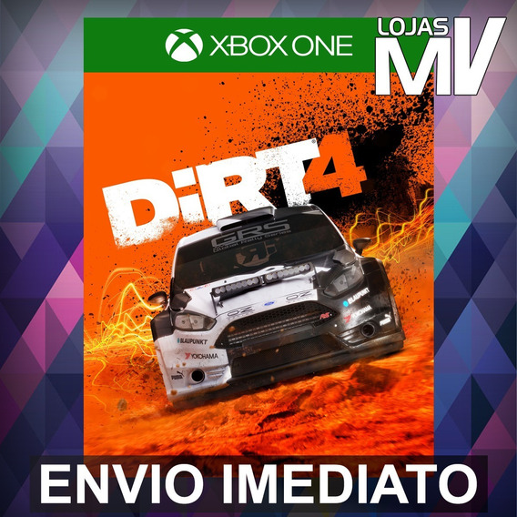 Dirt 4 Xbox One Código 25 Dígitos
