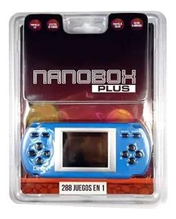 Consola Kanji Nanobox Plus Portatil Juegos 288
