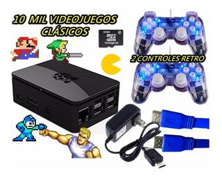 Miniconsola 10mil Videojuegos 2controles Msi Envio Gratis