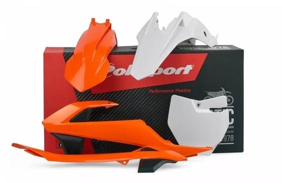 Kit Plastico Polisport Ktm 65 Sx 16-18 Laranja
