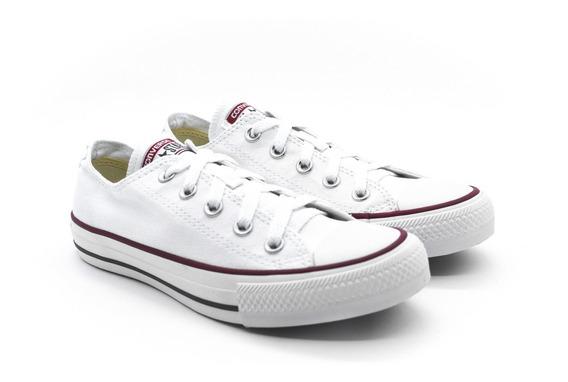 Tênis Converse Allstar Ct00010001 Branco/branco/marinho