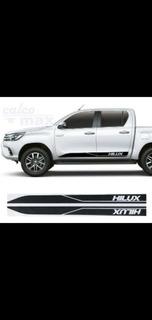 Líneas Laterales Toyota Hilux