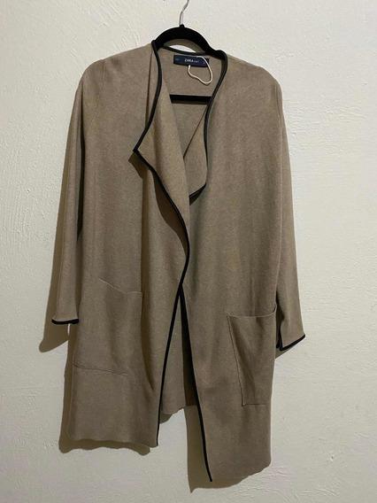 Suéter Largo Zara Knit Para Mujer Nuevo S 26