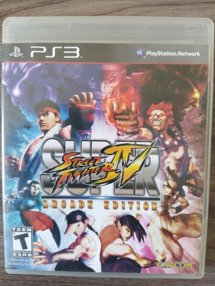 Super Street Fighter Iv Arcade Edition - Ps3