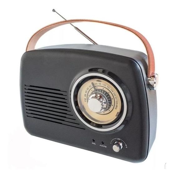 Radio Vintage Retro Fm Bluetooth Woofer - La Aldea
