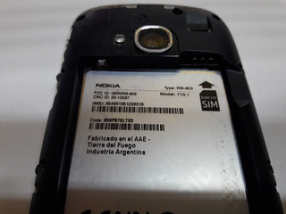 Celular Nokia Lumia 710 Para Repuestos + Funda - Outlet