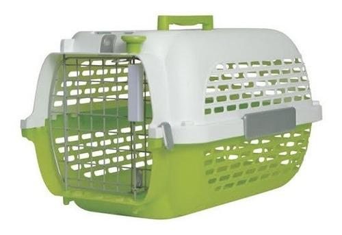 Guacal Transportador Perro Gato Talla S Verde  (hasta 24 Cm)
