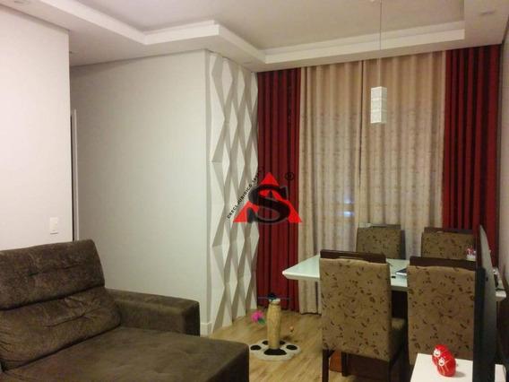 Apartamento Com 3 Dormitórios À Venda, 85 M² Por R$ 310.000 - Vila São José - Diadema/sp - Ap40179