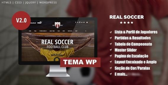 Wordpress Football Club - Informática [Melhor Preço] no