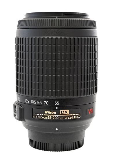 Lente Nikon 55 200mm 1:4-5.6g Ed