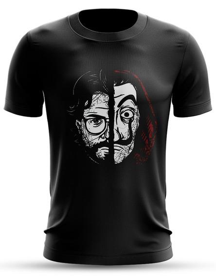 Camiseta Série La Casa De Papel