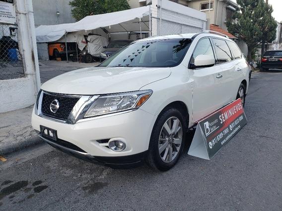 Camioneta Suv Nissan Pathfinder Exclusive Awd 2016