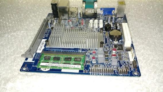 Placa Mae Ecs Nm70i V1.0 Com Memoria Ddr3 2gb Incluso !!!