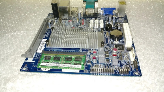 Placa Mae Ecs Nm70i V1.0 C/celeron Dc 847 + Ddr3 2gb