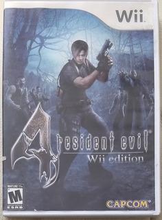 Resident Evil 4 Videojuego Wii Nintendo Capcom