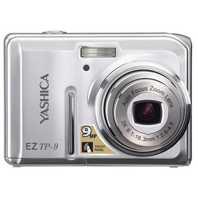 Câmera Digital Yashica Eztp9 9.0 Mp Lcd 2,7 Polegadas Tft