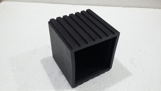 Ponteira 70x70 Externa De Borracha Ref. P/ Maquina Kit40 Pç