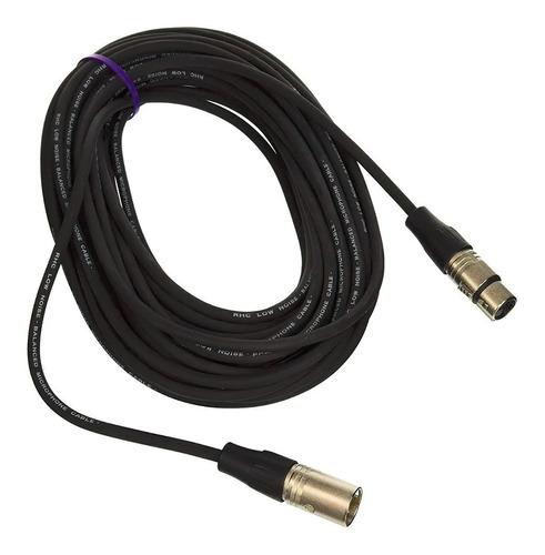 Cable Canon-canon Xlr Rapco Horizon Nm1-10 De 3 Metros Nuevo