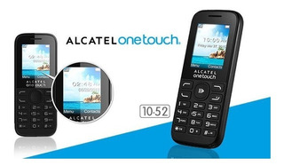 Celular Alcatel Basic Compacto 2 Chips One Touch 1052d