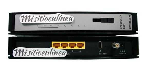 Cable Modem Router Wifi Homologado Inter Netgear