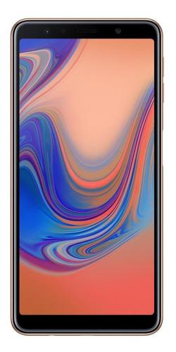 Imagem 1 de 4 de Samsung Galaxy A7 2018 128gb Cobre Usado Muito Bom